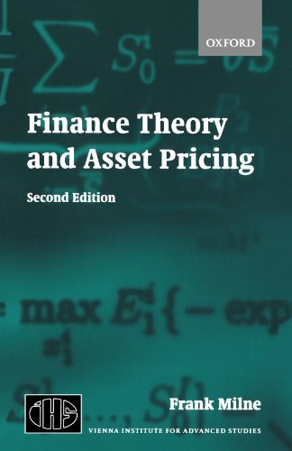 Finance Theory and Asset Pricing (Vienna Institute for Advanced Studies)
