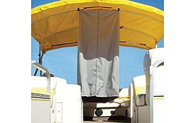 "Summerset Bimini Top Privacy Room - Marine Grade Polyester - 30""L x 30""W x 70""H - Grey"