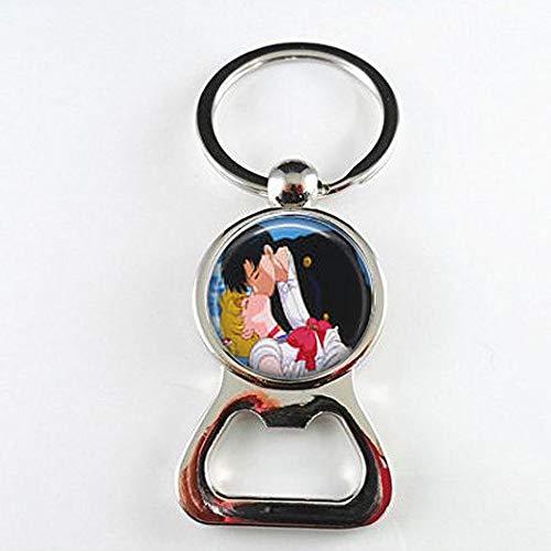 Sailor Moon & Tuxedo Mask Kiss Bottle openers