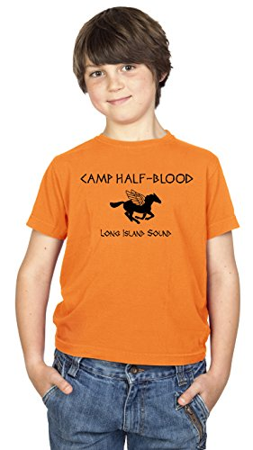 Daytripper Clothing Camp Half Blood Funny Book Premium T-Shirt Kids Boys Girls