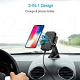 Wireless Car Charger, CHOETECH USB Type C 7.5W Wireless Car Charging Mount Stand Compatible iPhone XS/XS Max/XR/X/8/8 Plus, 10W Fast Wireless Charger Compatible Samsung Galaxy S9/S9+/S8/S8+/Note 9/8