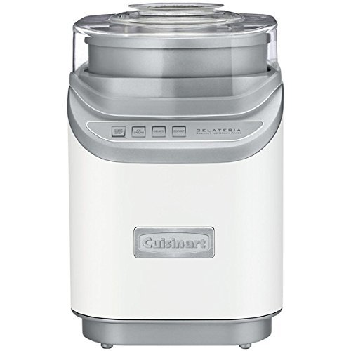 Cuisinart 2-quarts BPA-free Plastic Stainless Steel ICE-60W Ice Cream Maker (Cuisinart 6 Waffle Maker compare prices)