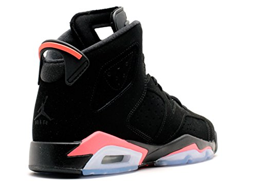 Nike Air Jordan 6 Retro Bg, Zapatillas de Deporte para Niños black, infrared 23