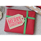 Merry Christmas Giant Gift Tags 10 Pack