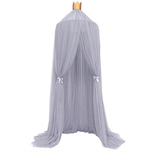 Mosquito Net Bed Canopy Didihou Yarn Dome Prince & Princess Play Tent for Baby Kids Reading Play Indoor Games House (Yarn (Play Tent Canopy)