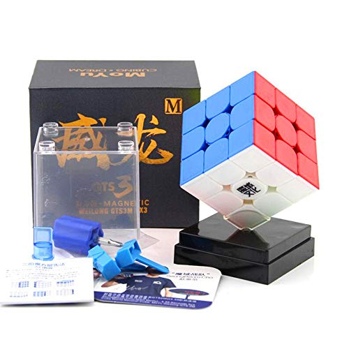 - CuberSpeed MoYu WeiLong GTS3 M stickerless 3x3 Magic Cube Magnetic MoYu WeiLong GTS V3 M Color 3x3x3 Speed Cube Puzzle
