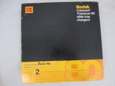 Kodak Carousel Transvue 80 Slide Holding Tray Excellent