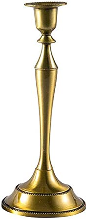 #1 chandelier en or antique support de bougie de d/îner europ/éen pour la d/écoration de table bras 1//3//5 en option Support de bougeoir