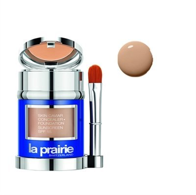 La Prairie by La Prairie Skin Caviar Concealer Foundation SPF 15 - # Honey Beige --30ml/1oz La Prai - La Prairie Beige Foundation