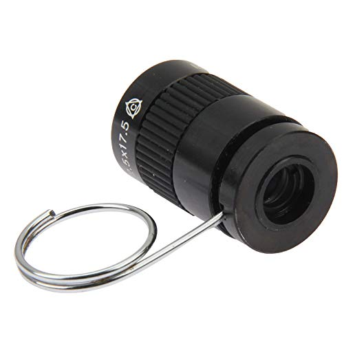 HD Telescope 2.5 X 17.5 Mini Monocular Thumb Finger Pocket Telescope by Gladnt