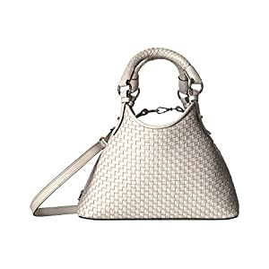 Cole Haan Women's Payson Woven Mini Triangle Tote