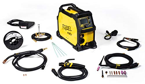 ESAB Rebel EMP 205ic 90-270 Volts Single Phase CC/CV Multi-Process Welder (Esab Tig Welder)