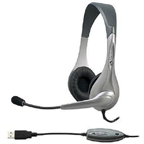 New Cyber Acoustics AC-851B USB Stereo Headset Over-The-Head 180 Degree Microphone Ambidextrous by Cyber Acoustics (Image #8)