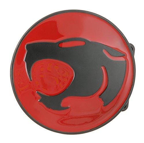 ThunderCats Black/Red Logo Metal Belt (Black Cat Belt Buckle)