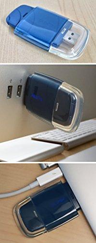 Nim Pendant - Clarus Q-LINK Nimbus SRT3 Qlink USB EMF Protector Blue