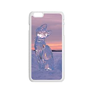 Crystal Cat Hight Quality Plastic Case for Iphone 6
