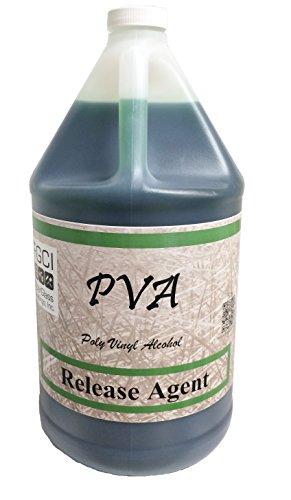 PVA Partall #10, Green Liquid Release, 1 Gallon (Pva Mold Release)