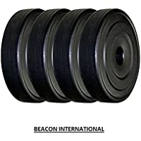 BEACON INTERNATIONAL 40 KG Weight Plates (10 KG X 4)