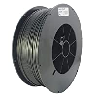 Proto-pasta CFP12830 The Original Carbon Fiber Spool , PLA 2.85 mm, 3 kg , Black from Protoplant INC