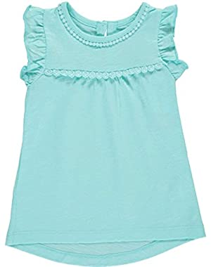 Baby Girls' Flutter Tank Top