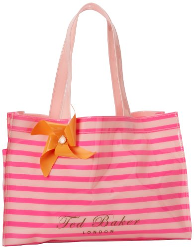 Ted Baker Telley Small Tote,Bright Pink,One Size, Bags Central