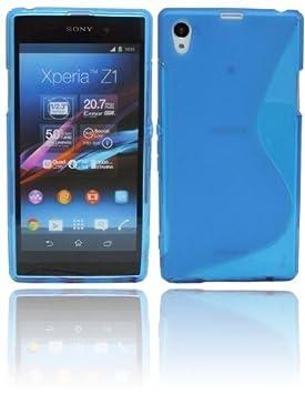 S Line TPU - Carcasa para Sony Xperia Z1 Funda de silicona ...