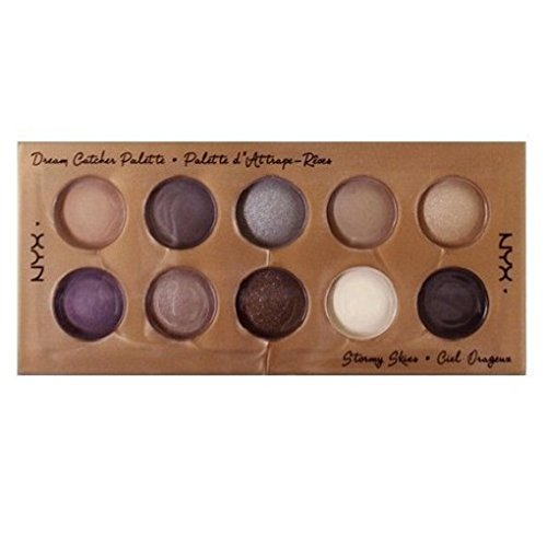 NYX Cosmetics Dream Catcher Shadow Palette Stormy Skies by N