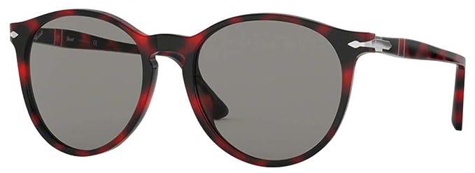 Persol 0PO3228S Gafas de sol, Havana Brown, 53 Unisex ...