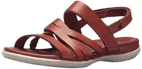 (ECCO Women's Flash Casual Sandal, Rust, 40 Medium EU (9-9.5)