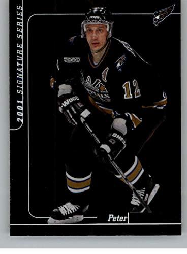 2000-01 Be A Player Signature Series Hockey #121 Peter Bondra Washington Capitals Official NHL Trading Card From ITG In The - Series Washington Capitals Player