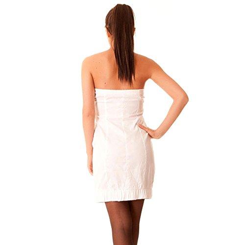 Miss Wear Line - Robe bustier blanche