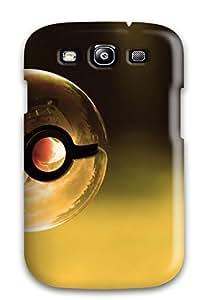 For Galaxy S3 Premium Tpu Case Cover Pokemon Ball Protective Case