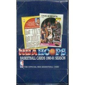 1990 91 Hoops Basketball Cards Series 1 Hobby Box -