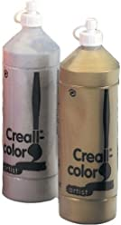 Creall Havo01040 500 Ml 20 Silver Havo Color Poster Paint Bottle Other Painting Supplies