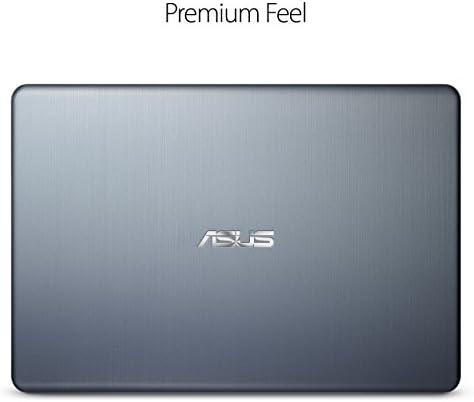"ASUS Laptop L406 Thin and Light Laptop, 14"" HD Display, Intel Celeron N4000 Processor, 4GB RAM, 64GB eMMC Storage, Wi-Fi 5, Windows 10, Microsoft 365, Slate Gray, L406MA-WH02 WeeklyReviewer"