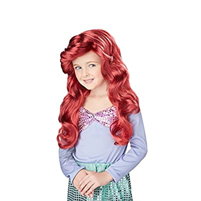 Little Mermaid Wig (Red) Child Accessory: Toys & Games