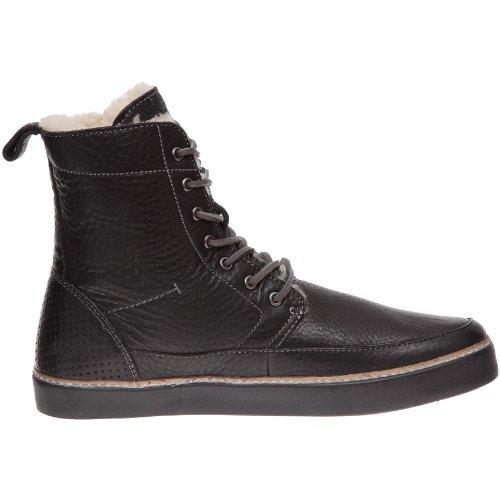 Top Hi Black AM32 Men's Shearling Blackstone Sneaker ZqWt6Oax