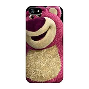 Protective Tpu Case With Fashion Diushoujuan Design For Iphone 4/4s (lotso)