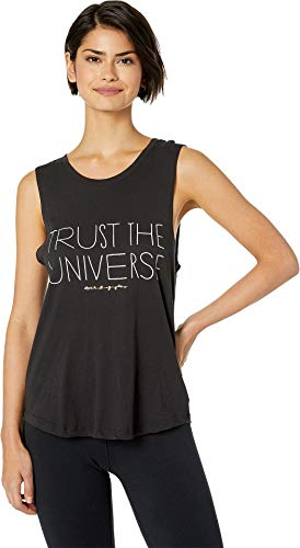 Spiritual Gangster Women's Trust Muscle Tank Vintage Black Small ()