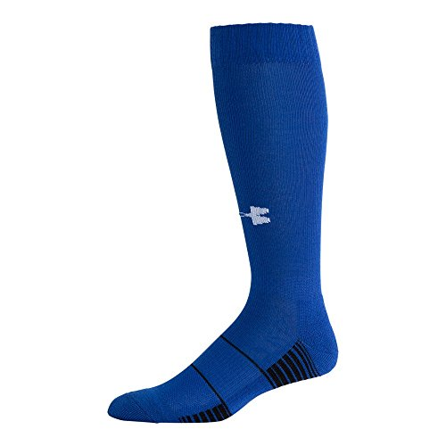 Under Armour Team Over The Calf Socks, 1-Pair, Royal/White, Shoe Size: 12-16