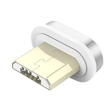 Sunlera Carga USB Tipo C 8 Pin Imán reemplazo magnética Línea de Cable Micro Fast Adaptador de Cargador para el / / Xiaomi/Huawei/Samsung