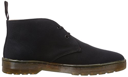Dr Chukka Canvas Black Twill Mayport Overdyed Martens Boot Men's tZxqftgwr