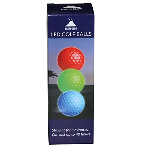 LED Light up Golf Balls -