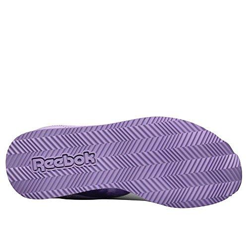 Reebok Royal CLJOG 2GR 2V - Zapatillas de running, Niñas Morado / Naranja (Smoky Violet / Electric Peach)