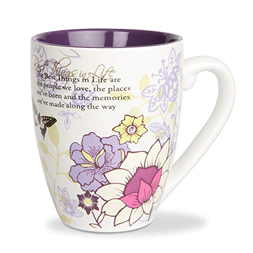 Pavilion Mark My Words The Best Things in Life Mug, 20-Ounce, 4-3/4-Inch (Im Jar You About Nuts)