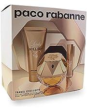 Paco Rabanne Paco Lady Million 80ml EDP + 10ml EDP + 100ml Body Lotion, 190 ml