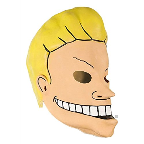 Beavis & Butthead Masks Adult Mens Funny Halloween Costume Accessory Fancy Dress