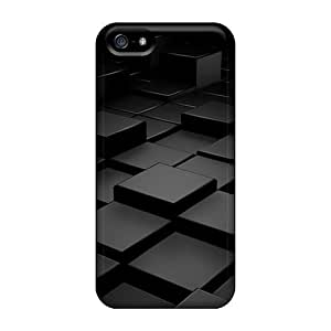 Snap-on Case Designed For Iphone 5/5s- Cubes 94