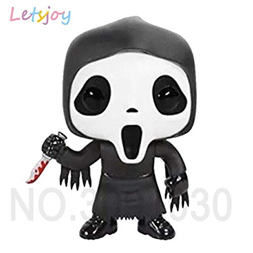 WOIA Trick 'R Treat Sam V for Vendetta Horse Terrifying Movie Doll Cute Pennywise Saw Billy Chucky Scream Ghostface Hand-Do U Must Have Gift Basket The Favourite DVD Superhero Dream -