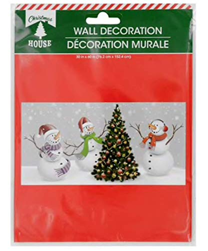 Christmas Party Fun Scenic Backdrop Scene Setter Decor